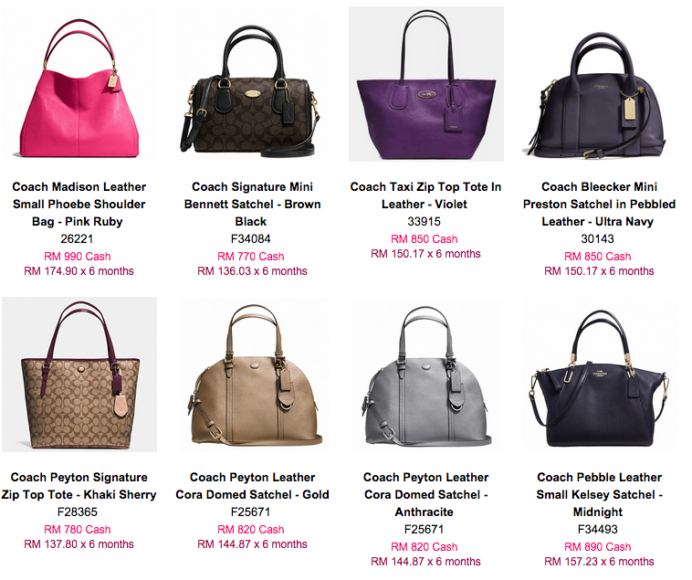 Luxury Bags Malaysia | E-commerce Directory